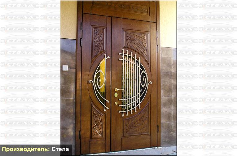 входная дверь по индивидуальному проекту
